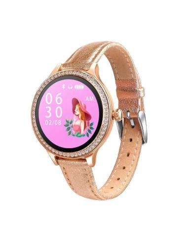 Damski smartwatch zegarek mesh RM6