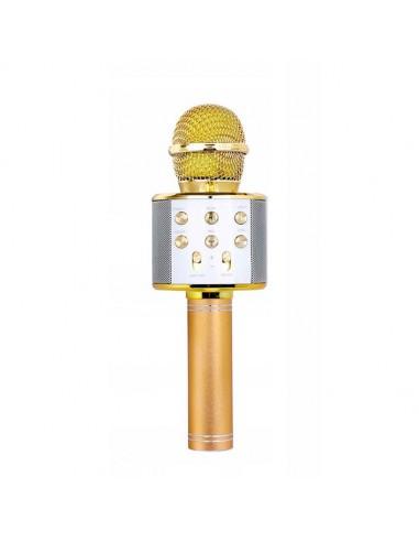 Bezprzewodowy mikrofon KARAOKE -...
