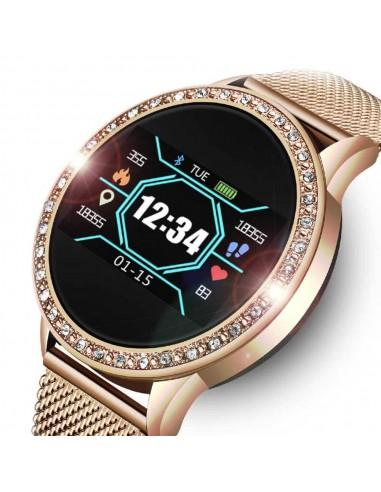 Smartwatch damski Roneberg RLK mesh