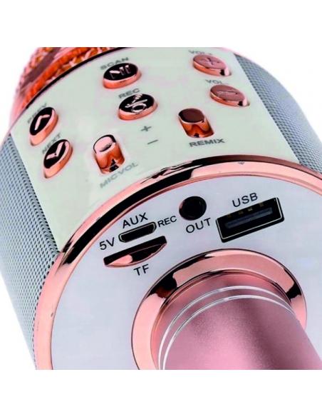 bezprzewodowy mikrofon karaoke dla dzieci z głośnikiem