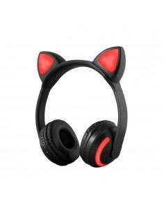 Czarne nauszne słuchawki ze...