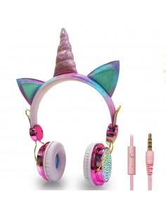 Słuchawki jednorożce dla...