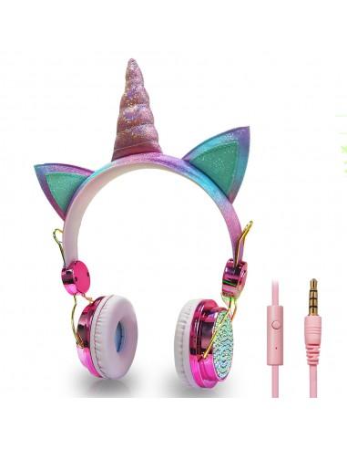 Słuchawki jednorożce dla dzieci z...