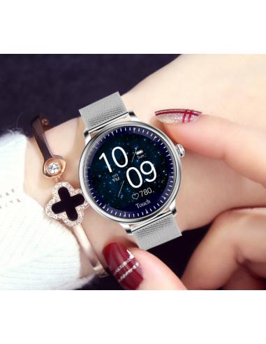 Elegancki smartwatch damski Roneberg...