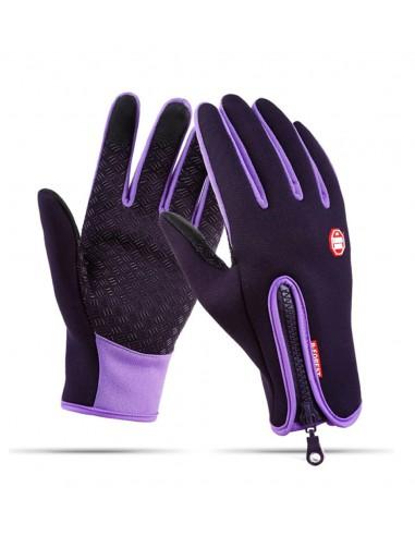 Wodoodporne zimowe rękawiczki...