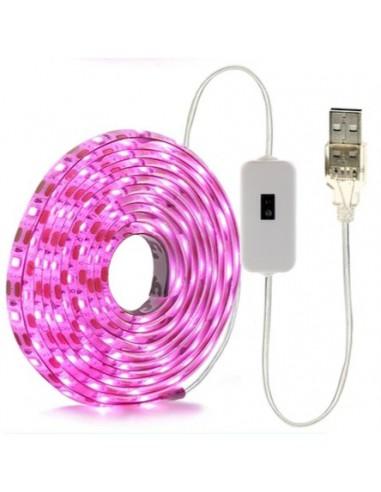 Taśma LED z czujnikiem ruchu 2m USB...