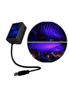 Projektor LED USB gwiazdy...