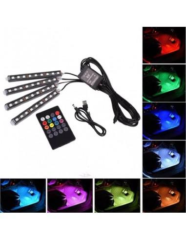 Listwy LED RGB do oświetlenia wnętrza...